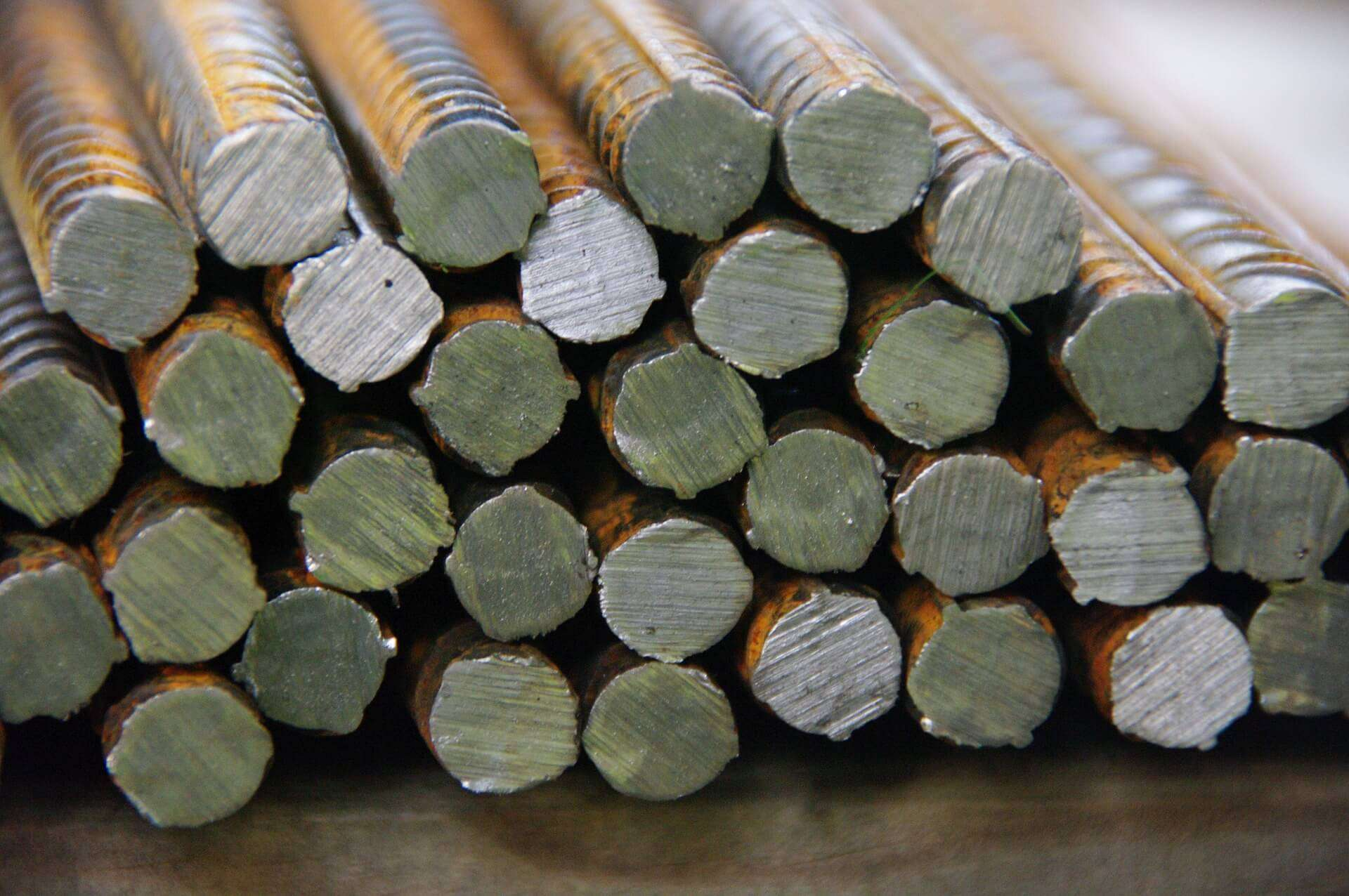 Steel Round Bars In Bundles